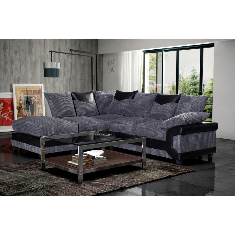 Superb Brand New Dino Large Corner Sofa